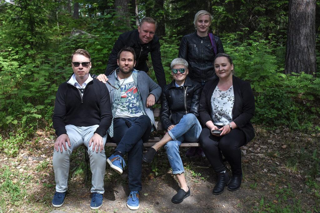 Strixin joukkue Savonlinnassa