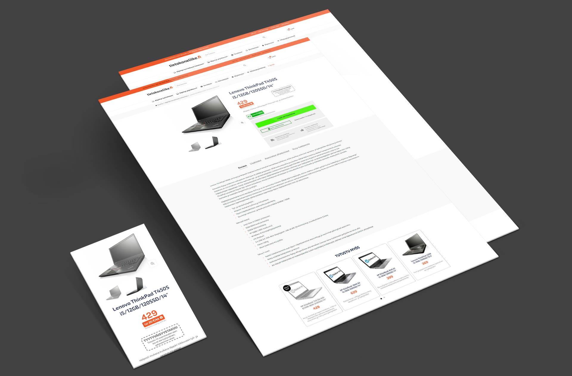 Tietokoneliike.fi verkkokauppa
